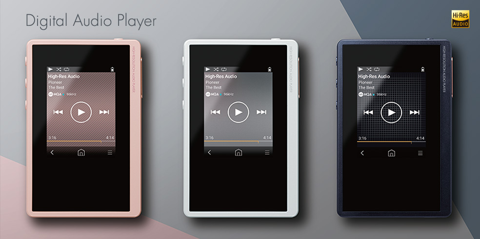 digital audio player