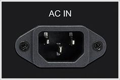 大型インレットタイプ着脱式電源コード