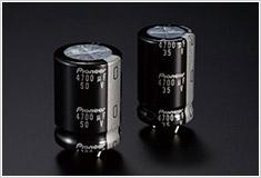 高音質カスタム電解コンデンサー搭載